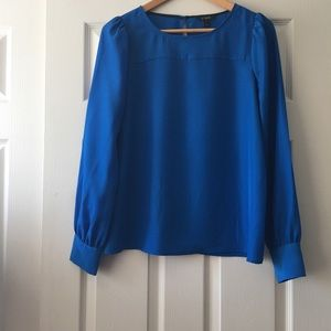 👗 J. Crew Blue Blouse